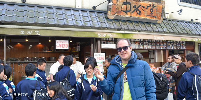 Comida japonesa. Mochis