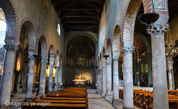 TRIESTE. Interior catedral