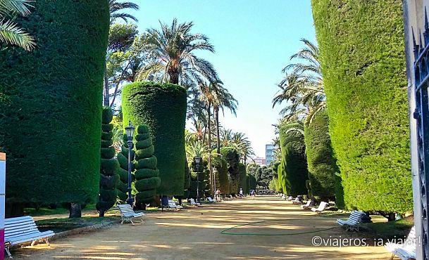 Cádiz. Parque genovés