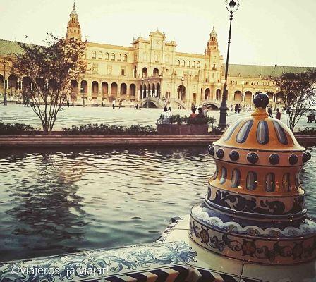 Sevilla y plaza de españa