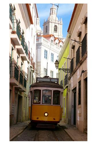 Tranvia 28 Lisboa