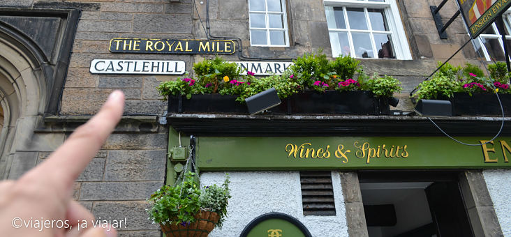 Edimburgo. Royal Miles