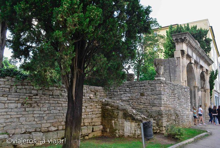ruinas romanas en Istria