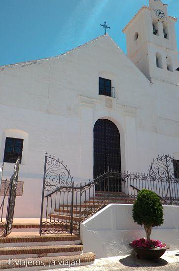 frigiliana - iglesia