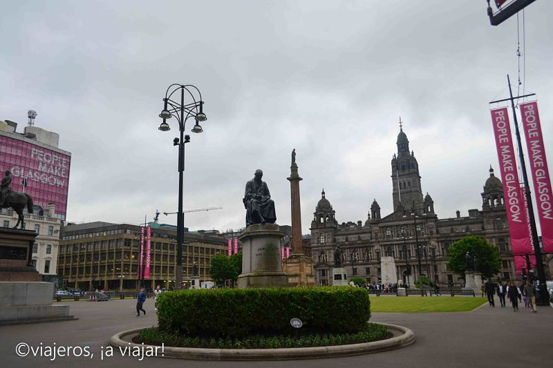 Glasgow - Plaza George