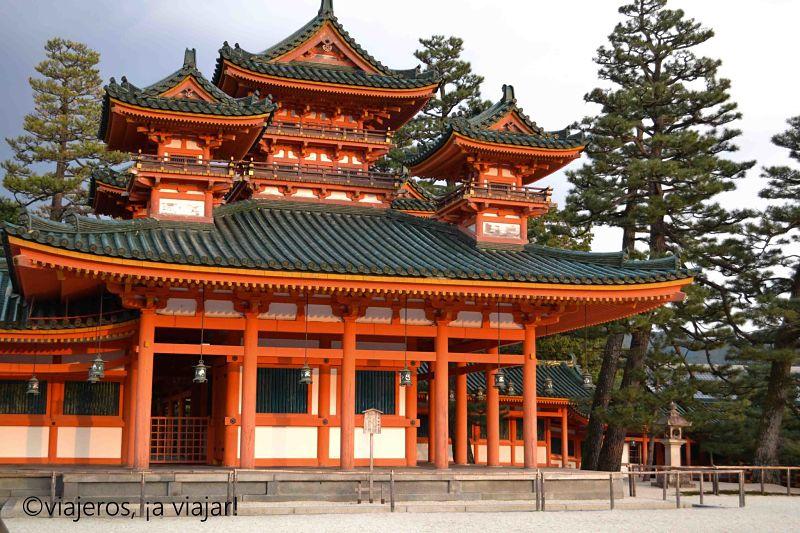 Santuario Heian. Templos de Kioto