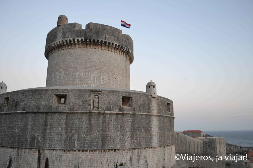 Vistas de las murallas de Dubrovnik