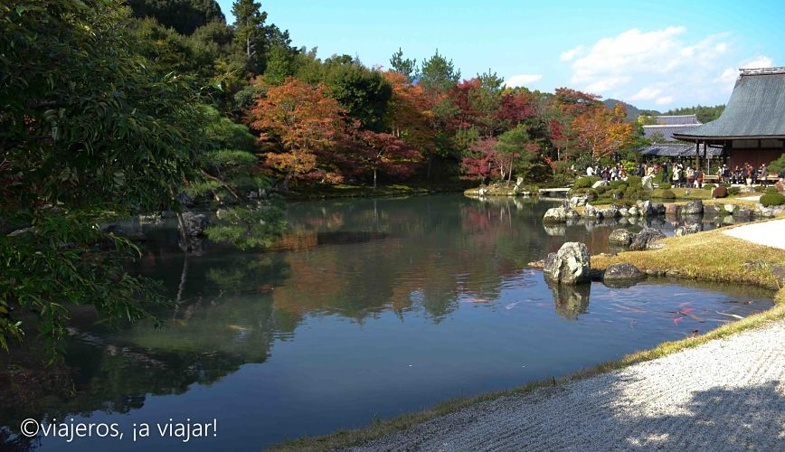 Arashiyama. Jardín Zen