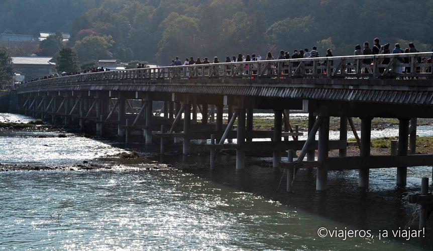 Arashiyama. Puente Togetsukyo