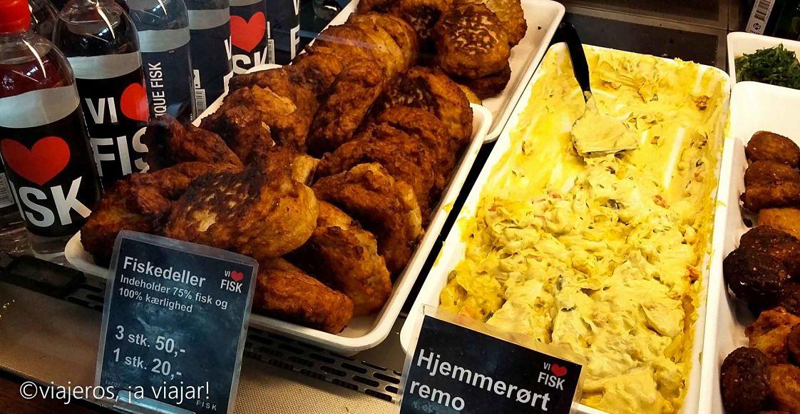 Dinamarca. almuerzo