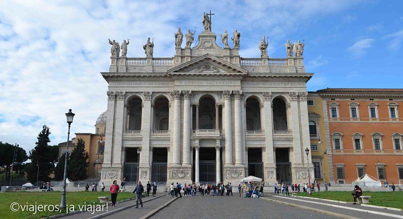Iglesias de Roma. San Juan Letrán