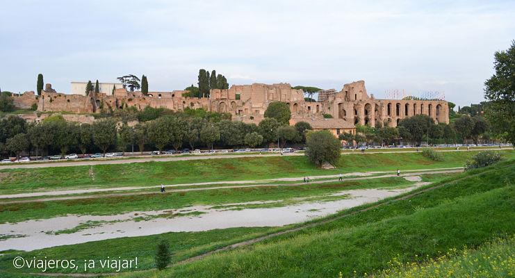 Roma Antigua. Circo máximo