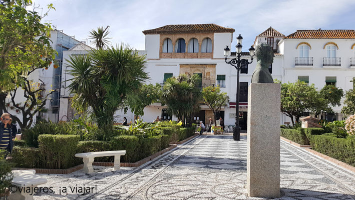Plaza de los Naranjos. Marbella