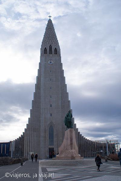 Iglesia Hallgrimskirkja de Reikiavik