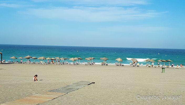 ALMERÍA. playa de mojacar