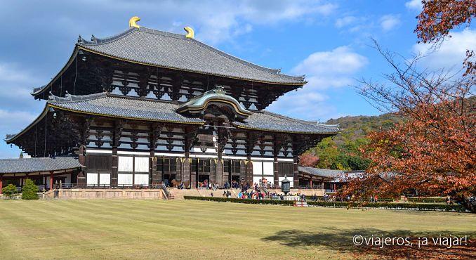 Templo de Todai-ji en Nara