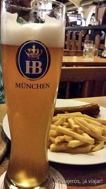 Hofbräu de trigo tipo ale