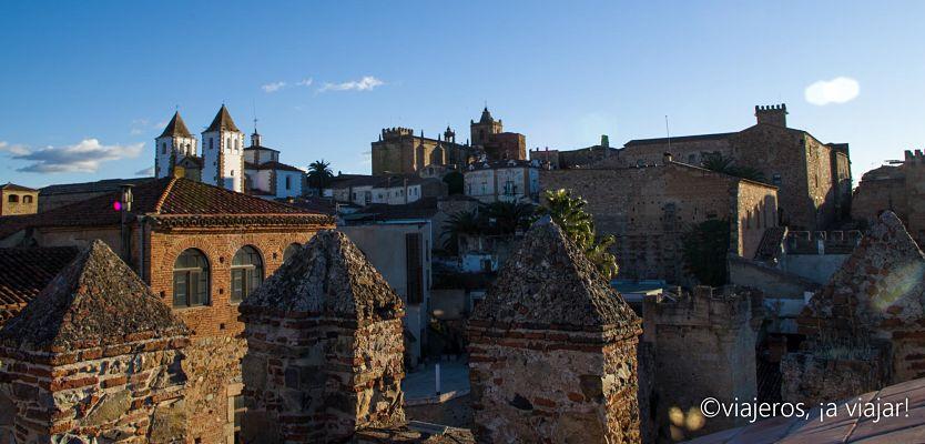 EXTREMADURA. Vista de Cáceres