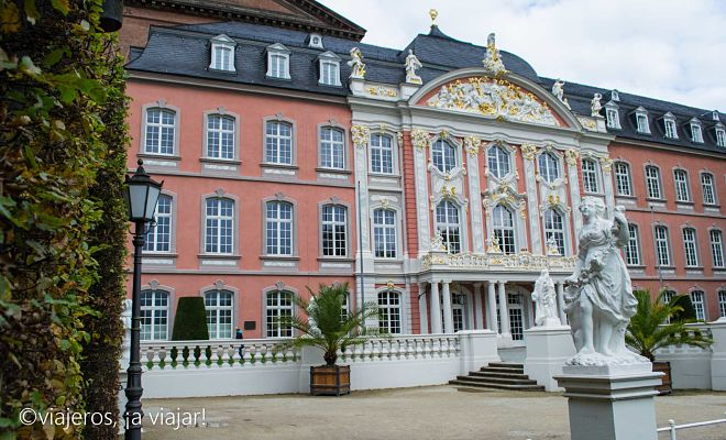 TREVERIS. Palacio del Principe Rector