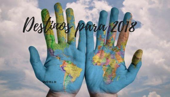 Destinos para 2018