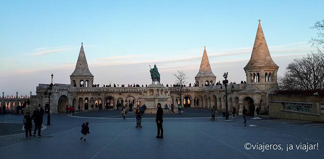 VIAJE Praga - Budapest. Bastión de los Pescadores