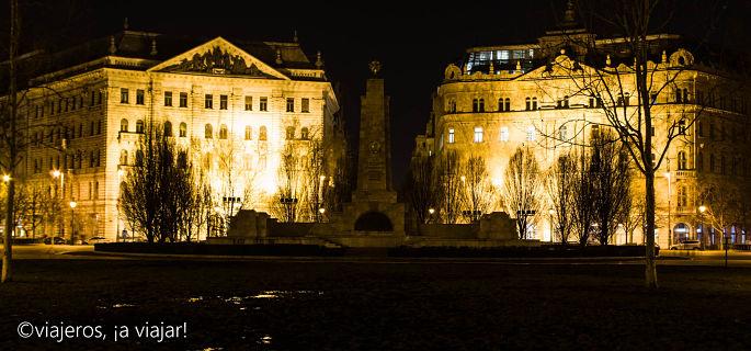 BUDAPEST. Memorial soviético