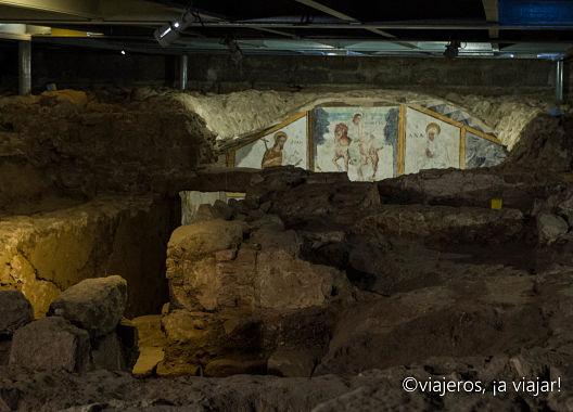 Mérida. Pinturas cripta