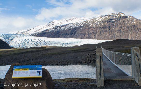 10 COSAS QUE VER EN ISLANDIA en primavera. Fláajökull
