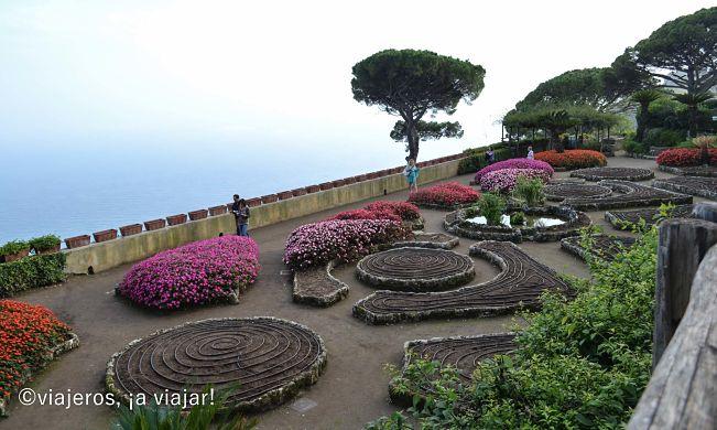 Ravello. Jardindes de V. Rufolo