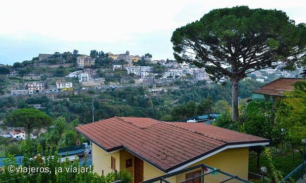Vistas de Ravello desde Scala