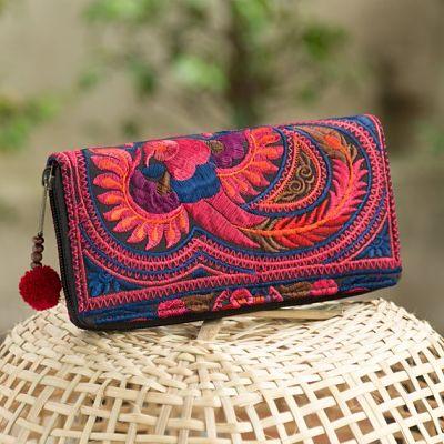 regalos viajeros. cartera tailandesa
