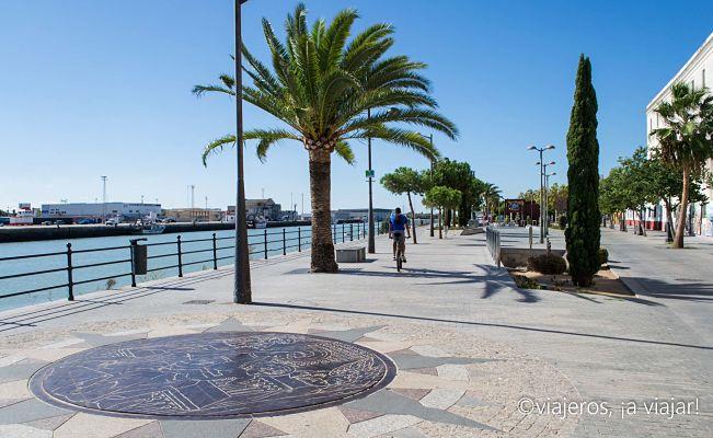 visitando el Puerto de Santa María