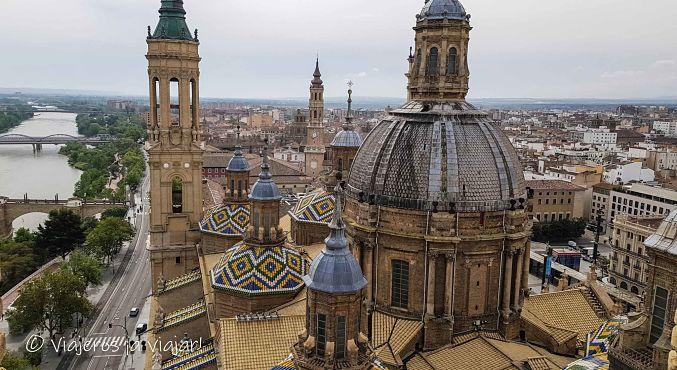 Cúpula de la basílica del Pilar