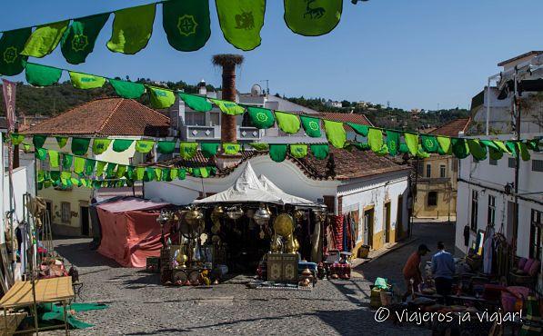 Paseo por Silves en Fiestas