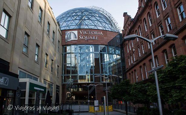 Vistas de Belfast desde su cúpula