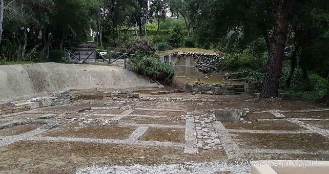 Ruinas romanas Carteia