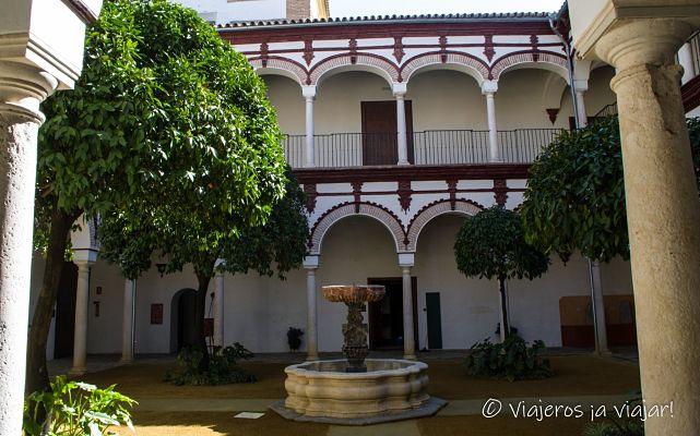 Interior palacio de Benamejí