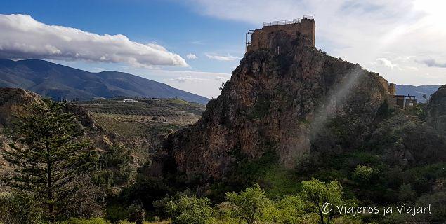 Castillo de Lanjarón. Alpujarra
