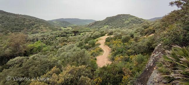 Sendero Parque Natural de los Alcornocales